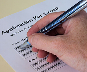 Credit Application Banner