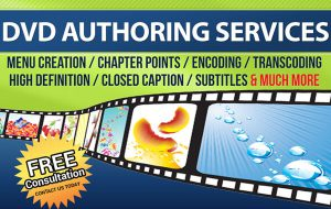 DVD Authoring Banner