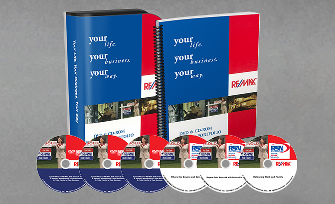 remax 6-disc set with case and workbook banner