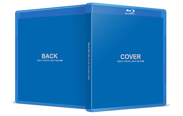 blu-ray case design template banner