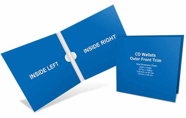 design templates cd/dvd wallets banner