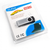 blister packaging for USB flash drive swivel model