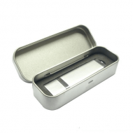 tin metal box packaging for USB flash drives