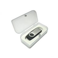 poly box for USB flash drives swivel model