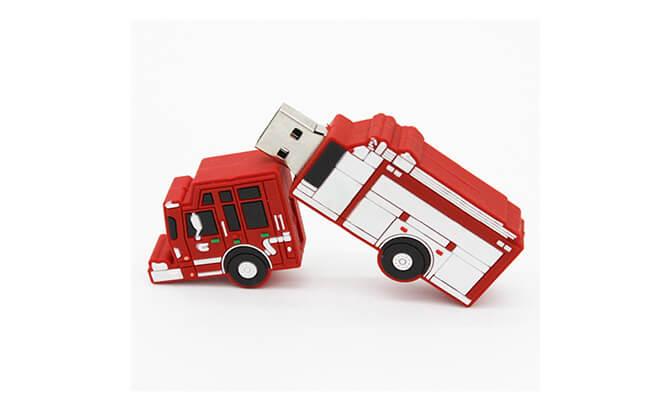 Fire Truck Custom Shape USB Flash Drive