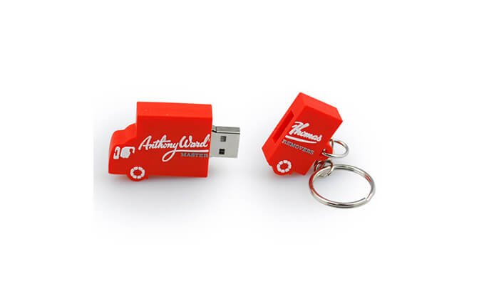 Cola Truck Custom Shape USB Flash Drives