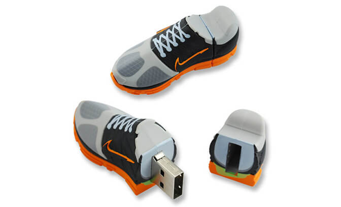 Shoe Shape Custom USB Flash Drive