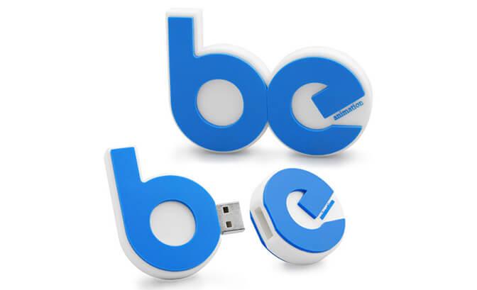 BE Logo USB Flash Drive