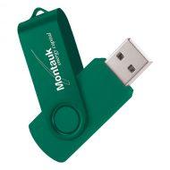 USB Flash Drive Swivel Series Color Matrix Green