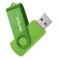 USB Flash Drive Swivel Series Color Matrix Lime