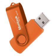 USB Flash Drive Swivel Series Color Matrix Orange