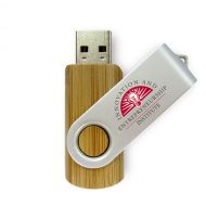 USB Flash Drive Swivel Series Carbonized Bamboo